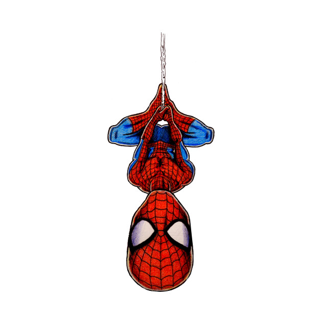 upsidedown spidey spider man t shirt teepublic