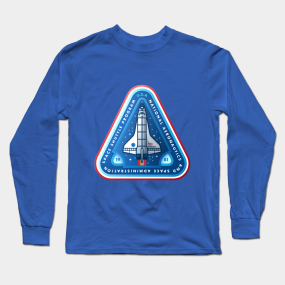 219cce53 Nasa Space Shuttle Long Sleeve T-Shirts | TeePublic