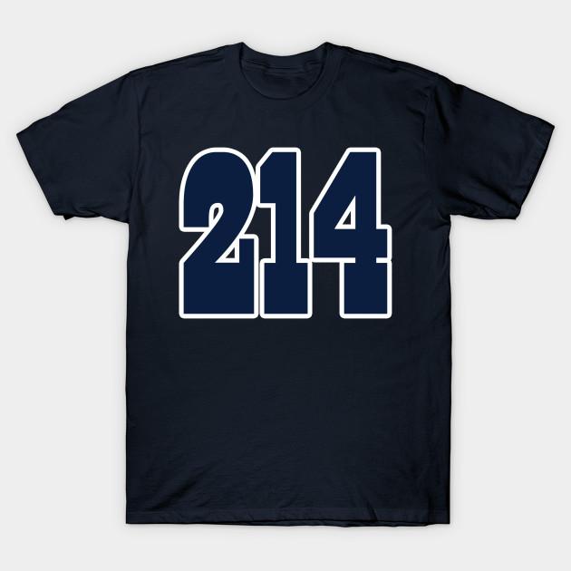 545b29bd1d8 Dallas LYFE the 214!!! - Dallas Cowboys - T-Shirt | TeePublic