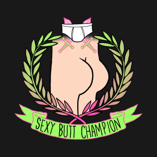 Sexy Butt Champion t-shirts