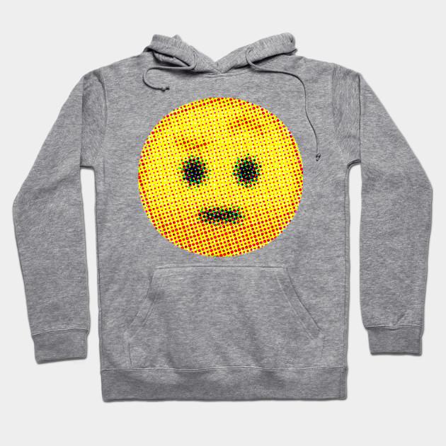 Emoji Suspicious Face With Raised Eyebrow Emojis Hoodie