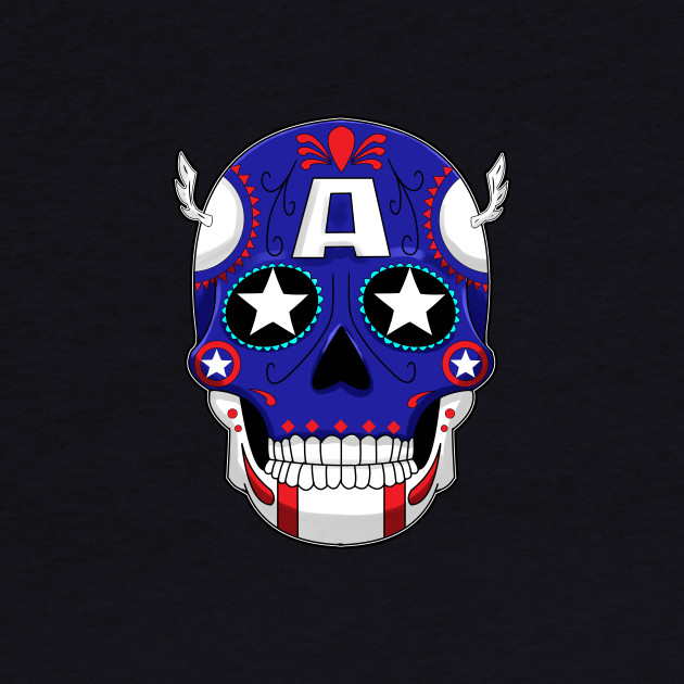Captain America - Sugar Skull