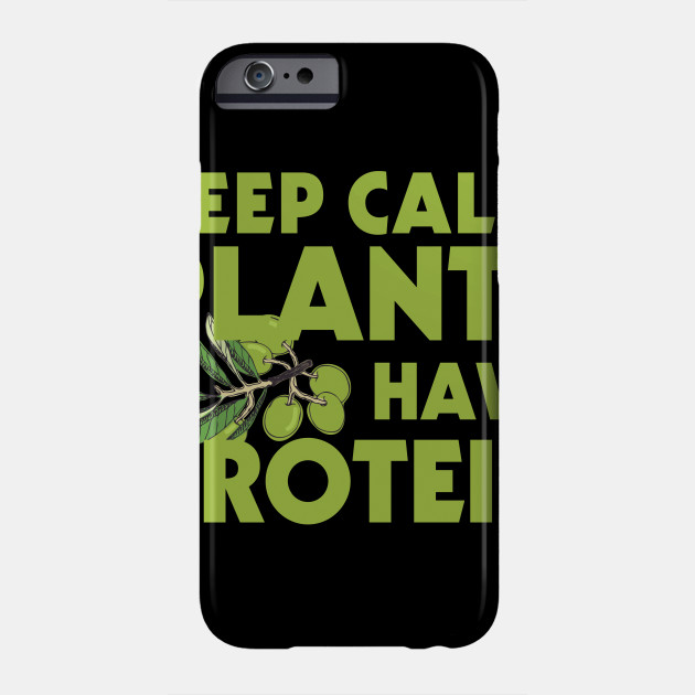 Vegetarian TShirt Funny Vegan Gift Idea Tee Phone Case