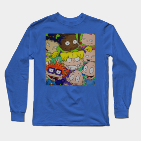 631d3fe46e71 Rugrats Group Picture Long Sleeve T-Shirt