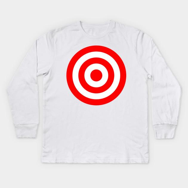 b7ca50cb Bullseye Target Red & White Shooting Rings - Target Shooting - Kids ...