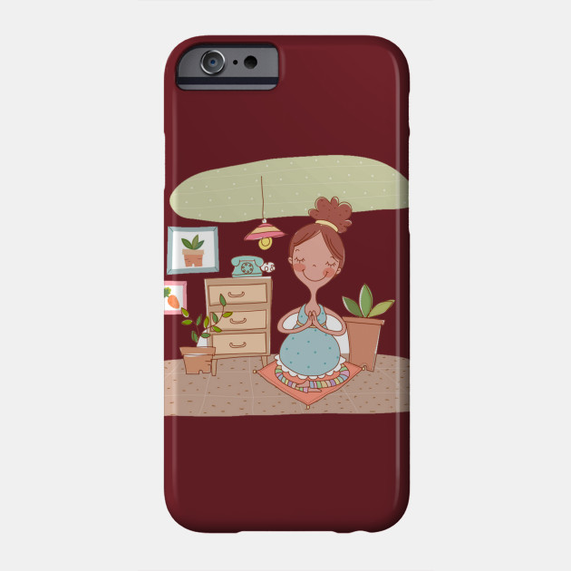 Pregnancy Childbirth Mother Woman, Maternal and child illustration PNG clipart Phone Case