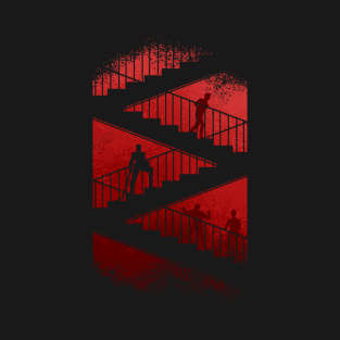 daredevil stair scene t-shirts