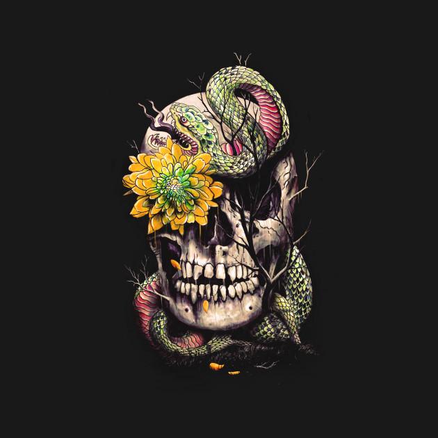 Snake & Skull