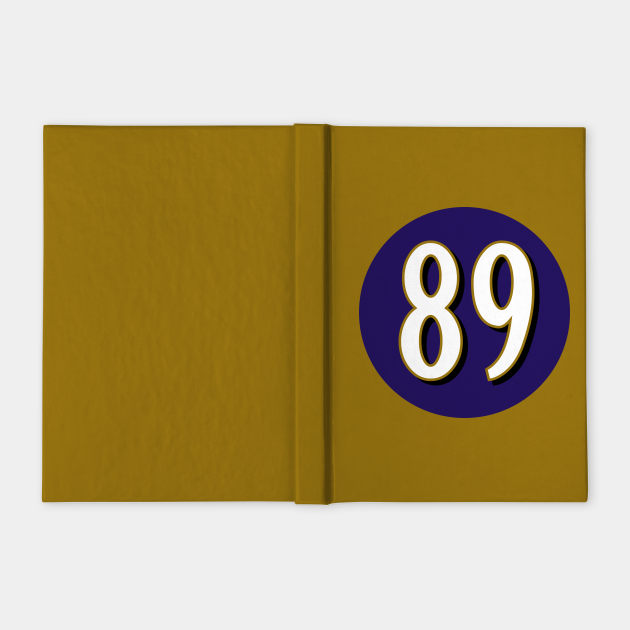 Mark Andrews Baltimore Ravens Number 89 Jersey Inspired