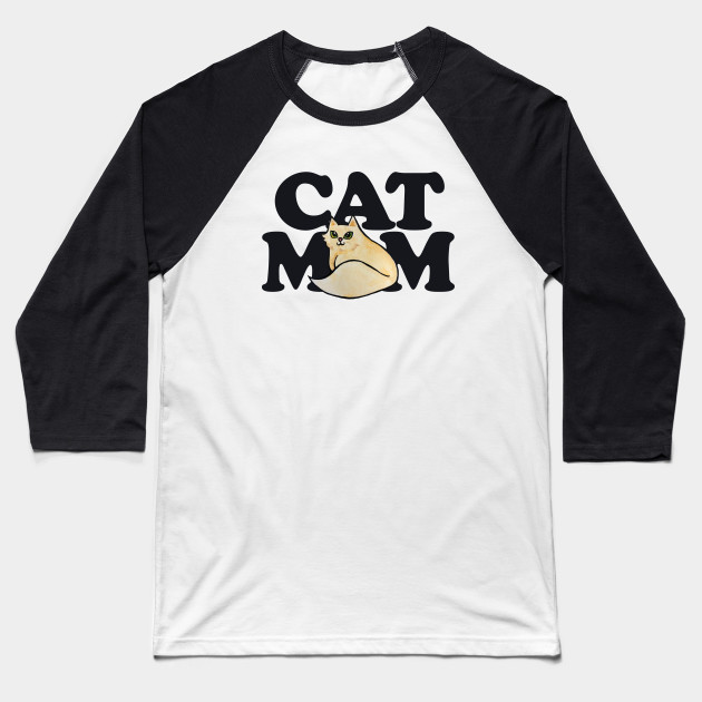 Cat Mom tee shirts cat lovers tshirt Baseball T-Shirt