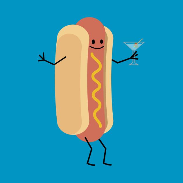 hot dog martini