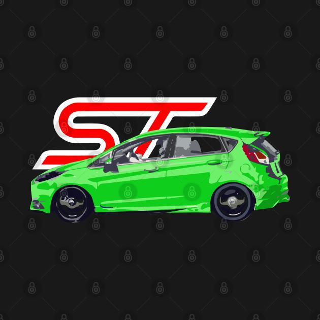 Ford fiesta st Green Envy