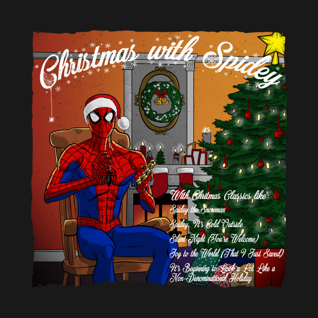 Spiderman Christmas.Christmas With Spidey