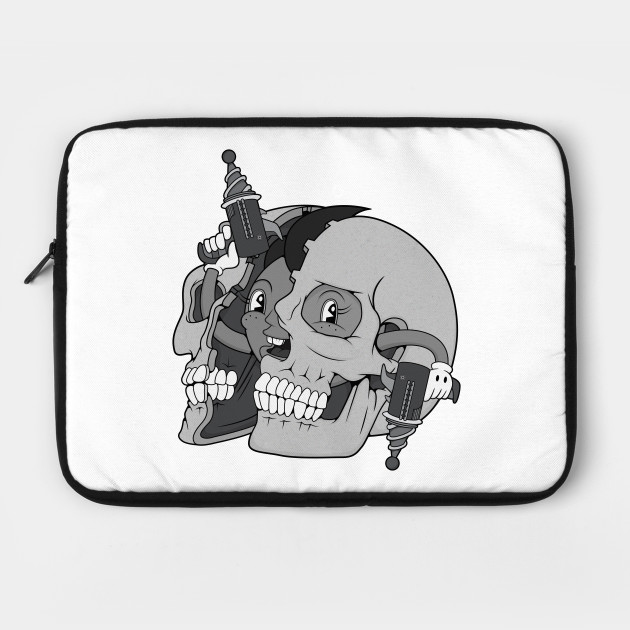 Retro Skull Lad