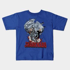 d56faa39 Sharknado Kids T-Shirts | TeePublic