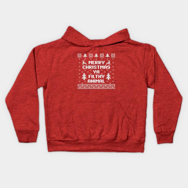 5aed947c20c Merry Christmas Ya Filthy Animal Christmas Sweater