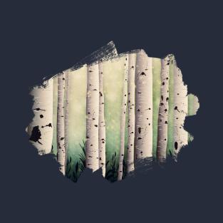 ba51ec054 Birch wood at midsummer T-Shirt