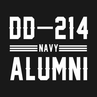 91ee6c2a DD 214 US Navy Alumni Veteran days gift T-Shirt