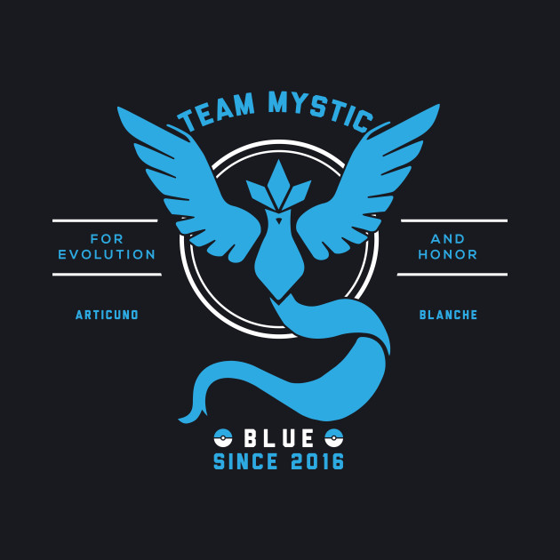 Team Mystic I Choose You!