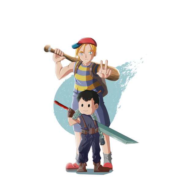 earthbound and Final Fantasy
