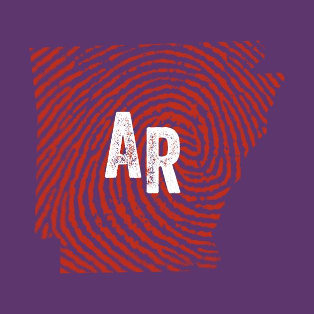 Home State Fingerprint  - Arkansas