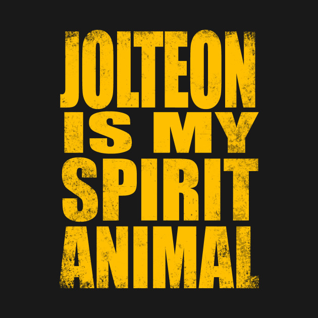 Jolteon is my Spirit Animal