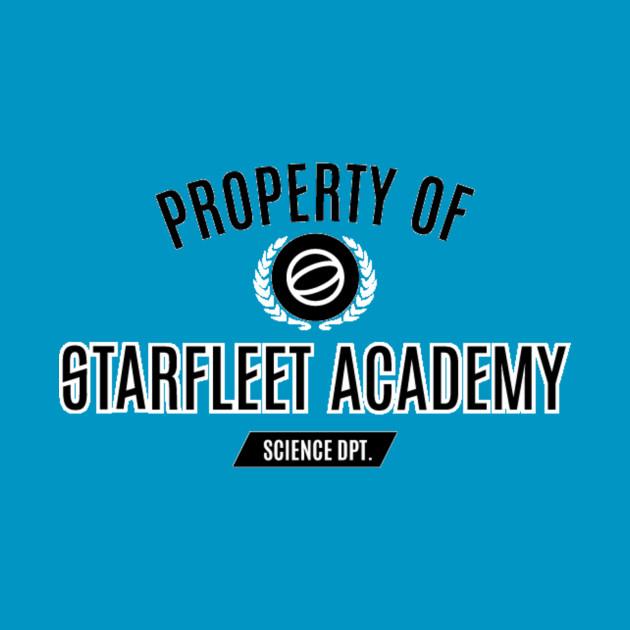 Property of Starfleet- Blue