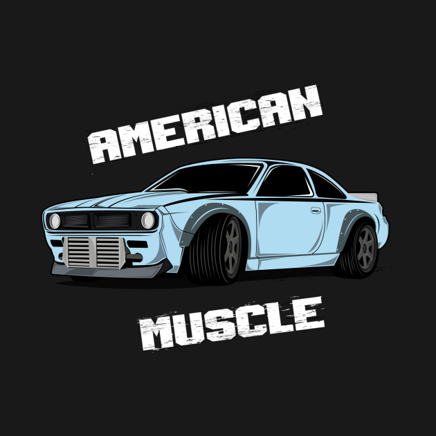 Automotive American Muscle Car