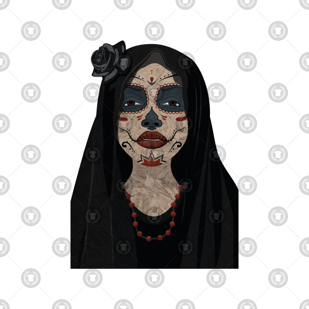 Day Of The Dead Girl Design