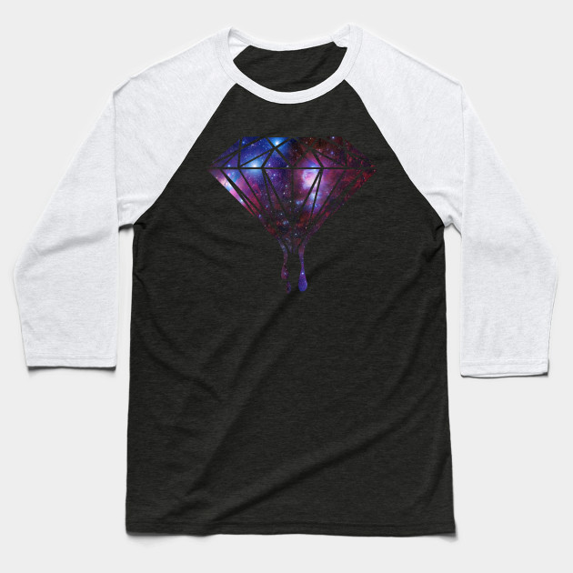 78383ae0e Galaxy Diamond - Universe - Baseball T-Shirt | TeePublic