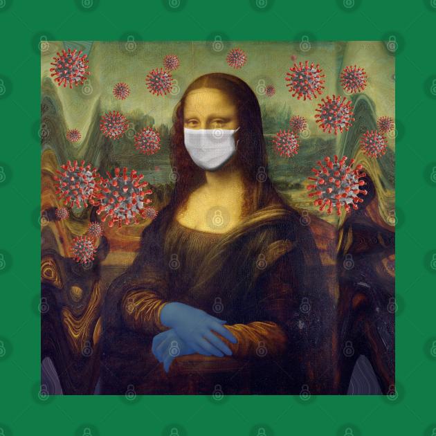 Mona Lisa Coronavirus Virus Protection Measure, TPSSG