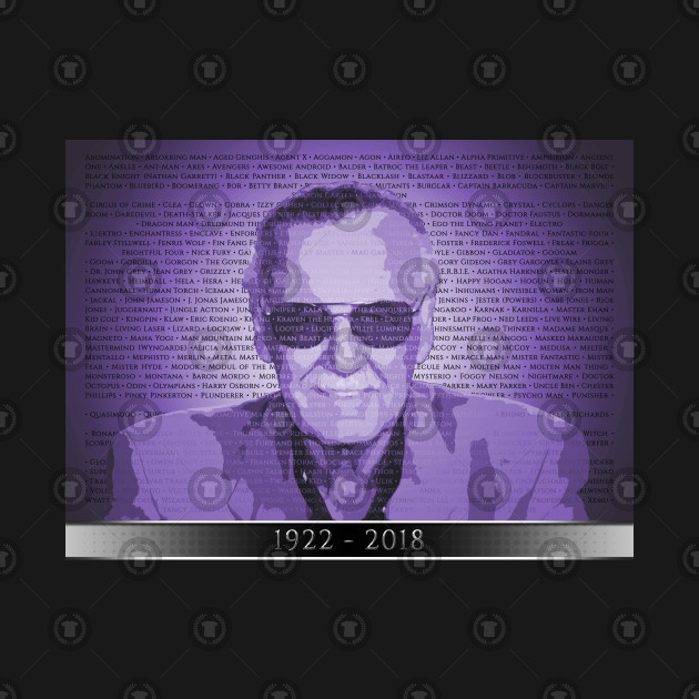 STAN LEE - THE CREATOR (Purple)