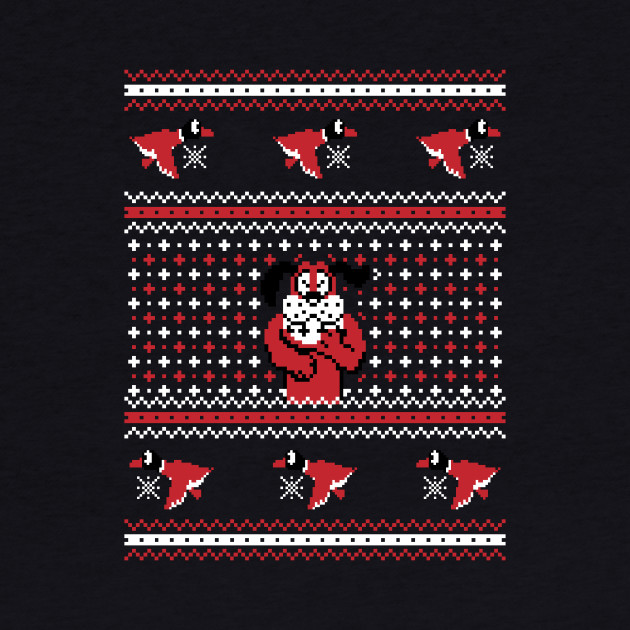 Festive Duck Hunt - Ugly Sweater, Christmas Sweater & Holiday Sweater