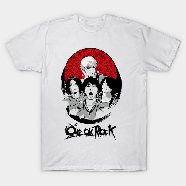 One ok rock anime edition design t shirt teepublic for One t shirt design
