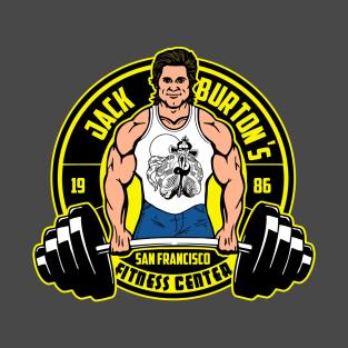 Jack Burton's fitness center t-shirts