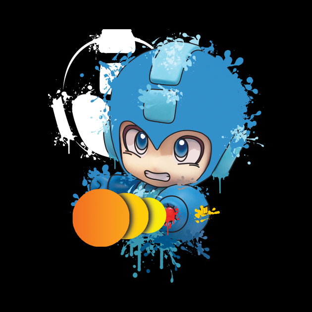 The Heroic Blue Android