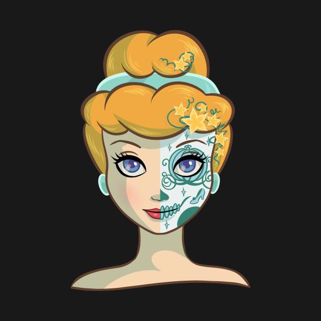 sugar skull coloring pages princess - photo#36