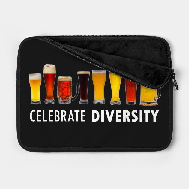 Celebrate Beer Diversity Funny Drinking T-shirt