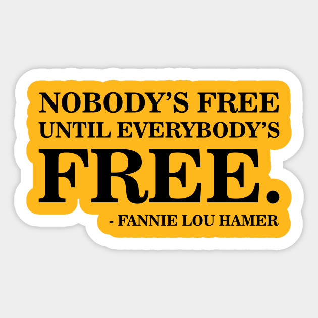 Nobody's Free Until Everybody's Free | Fannie Lou Hamer | Civil Rights