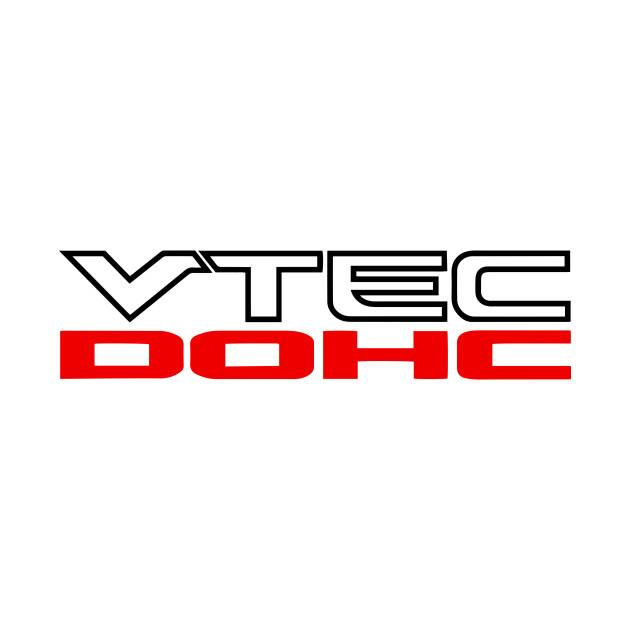 Honda DOHC VTEC - Honda Dohc Vtec Logo - T-Shirt | TeePublic Honda Dohc Vtec Logo