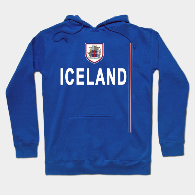 newest 66fea 8c477 Iceland National Soccer Team Jersey T-shirt