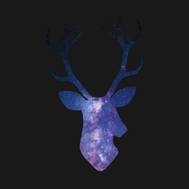 Cosmic deer head