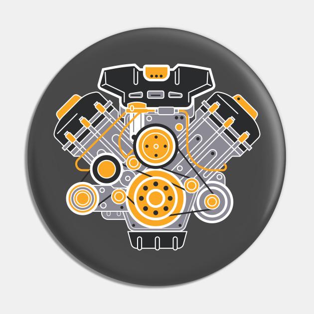 V8 Engine Diagram - V8 Engine