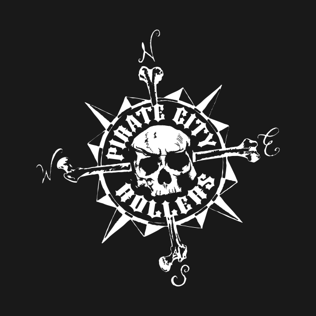 Pirate City Rollers compass