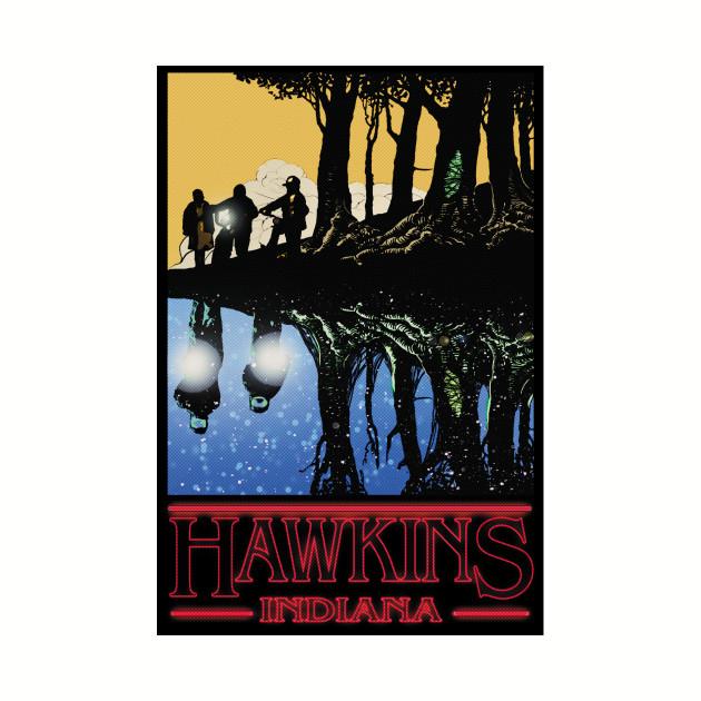 Visit Hawkins, Indiana