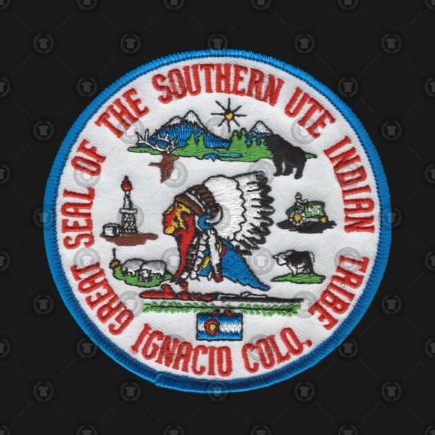 The Great Seal Of The Southern Ute Indian Tribe