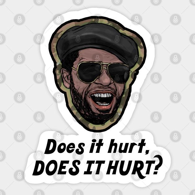 Does It Hurt, Does It Hurt? - Robocop - Sticker | TeePublic UK