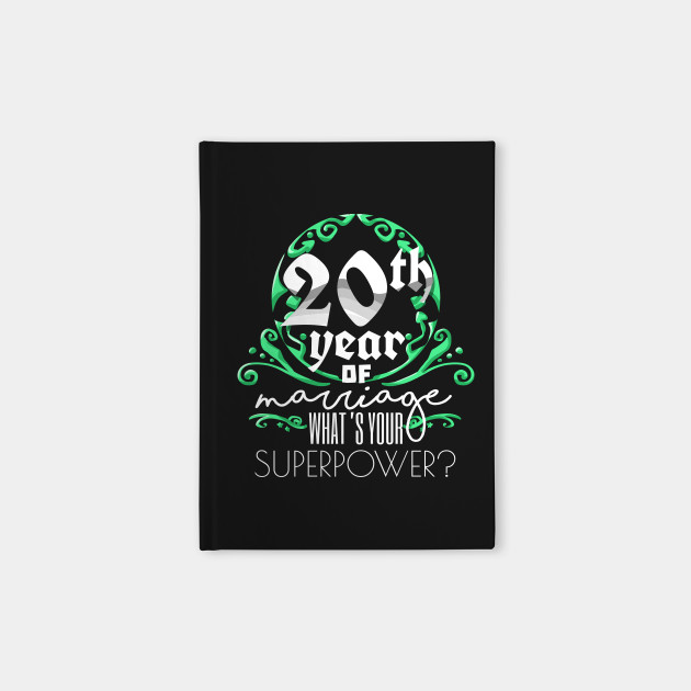 Anniversary Gift 20th 20 Years Of Marriage Couples T Shirt