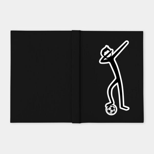 Dabbing Stick Figure - Soccer I