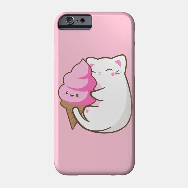 watch 03a51 45c5b Ice cream lover chubby cat